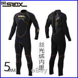 YSO391 MENS Neoprene SCR 5MM Scuba Diving Wet Suit Full Body Wetsuit Snorkeling