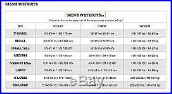 Zoot Men Wave 3 Full Triathlon Multisport Neoprene Wetsuit Medium Black NEW