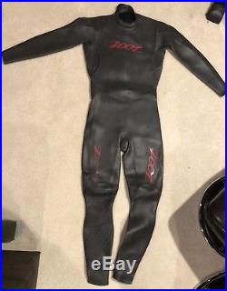 Zoot Mens Triathlon Wetsuit Size Small Z Force 1.0 New Full Suit S